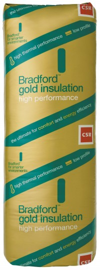 Bradford Insulation Batts Hi-Performance Gold Wall  R2.0 - 1160x420x75 image